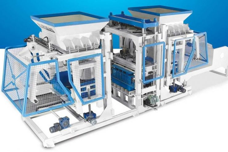 Fully Automatic cement Block Making Machine TP.RN2025