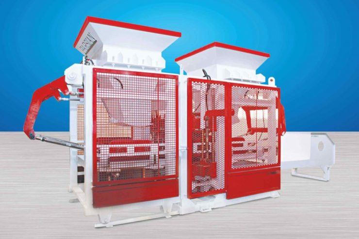 Cement Brick Making Machine TP.RN1518 II Double Packet